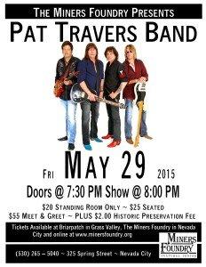 Pat Travers poster
