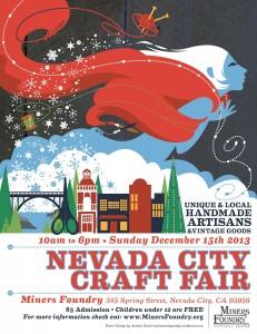 Winter Craft Fair poster